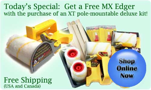 today's special - Free MX edger with purchase of XT Deluxe Kit.  Click to shop online.